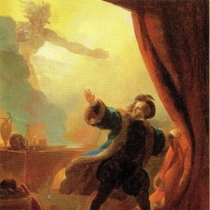 Fragonard, Alexandre-Evariste ~ Faust in his Study