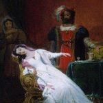 Monvoisin, Pierre-Raymond-Jacques ~ Othello and Desdemona