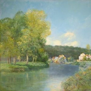 Vogler, Paul ~ River Oise in Summer