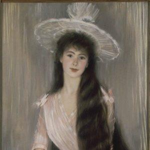 Blanche, Jacques-Émile ~ Portrait of Donna Olga Caracciolo Dei Duchi Di Castelluccio aged 17
