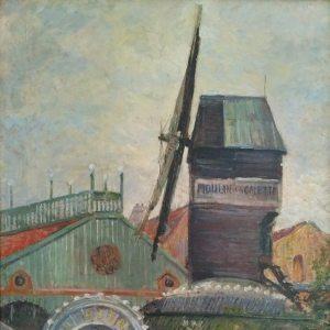 Cordey,  Samuel Frédéric ~ Moulin de le Galette