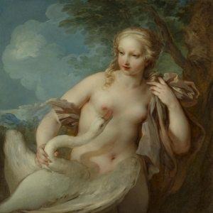 Lemoyne, François ~ Leda and the Swan