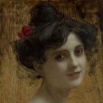 Veith, Eduard ~ Portrait of a young woman