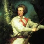 Trumbull, John ~ Portrait of Captain Samuel Blodget in Rifle Dress, 1786