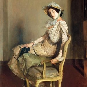 Blanche, Jacques-Émile ~ Desirée Manfred (The Summer Girl)