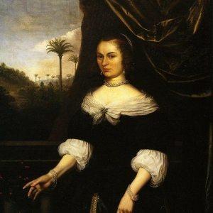 Vertangen, Daniel ~ Portrait of Dina Lems