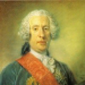 Perronneau,  Jean-Baptiste ~ Portrait of Don Giacomo Francesco Milano-Franco-d'Aragona, Prince of Ardore, Duke of Santo Paolo, etc.