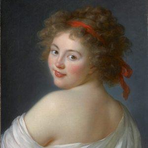 Vigée Le Brun, Élisabeth-Louise ~ Countess Yekaterina Vassilievna Skavronskaia, later Countess Litta