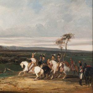 Lami, Eugène ~ Prince Murat a la bataille de Wertingen