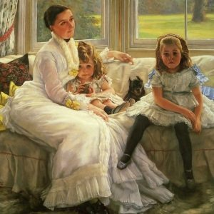 Tissot, James Jacques Joseph ~ The Chapple-Gill Family of Lower Lea, Woolton