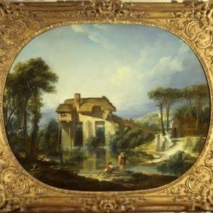Boucher, François ~ The Mill of Quiquengrogne at Charenton