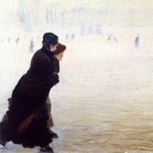 Nittis, Giuseppe de ~ The Skating Lesson