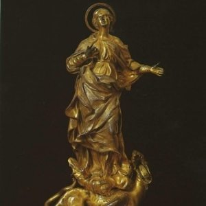 Algardi, Alessandro ~ The Virgin of the Immaculate Conception