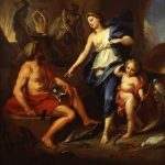 Boullogne, de Louis ~ Venus Commanding Vulcan to Make Arms for Aeneas