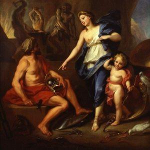 Boullogne, de Louis ~ Venus Commanding Vulcan to Make Arms for Aeneas