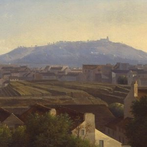 Dunouy, Alexandre-Hyacinthe ~ View from a Window of the Boulevard de la Madeleine