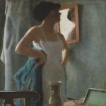 Rassenfosse, Armand ~ Young woman at her toilette