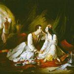Colin, Alexandre-Marie ~ Don Juan and Haidée