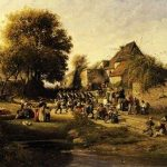 Harpignies, Henri-Joseph ~ The Return from the War
