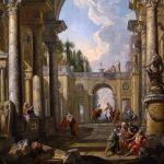 Panini, Giovanni Paolo ~ Bélisaire aux portes de Constantinople