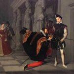 Ingres, Jean Auguste-Dominique ~ Don Pedro Of Toledo Kissing The Sword Of Henri IV