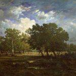 Rousseau, Pierre Étienne Théodore ~ Edge Of The Forest, Near The Gorges D'Apremont