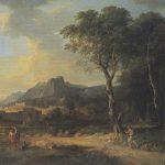 Valenciennes, Pierre Henri de ~ Figures in a Classical Landscape