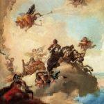 Tiepolo, Giandomenico ~ L'apothéose d'Hercule