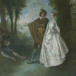 Watteau, Antoine ~ La Promenade
