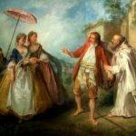 Lancret, Nicolas ~ Les Oies Du Frère Philippe