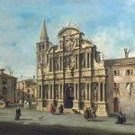 Guardi, Francesco ~ View Of Santa Maria Zobenigo, Venice