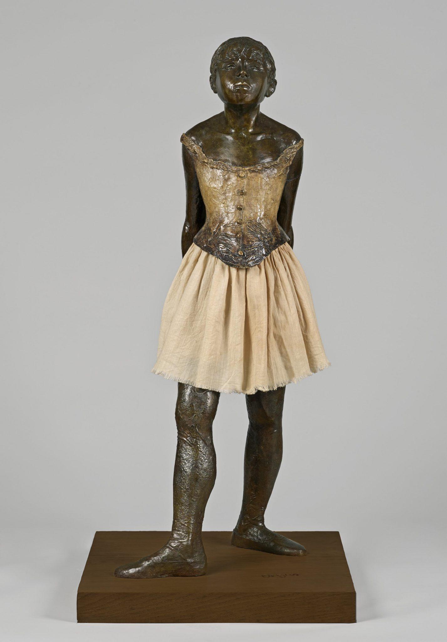 Degas, Edgar ~ Petite Danseuse de Quatorze Ans (Little Dancer, Aged Fourteen)