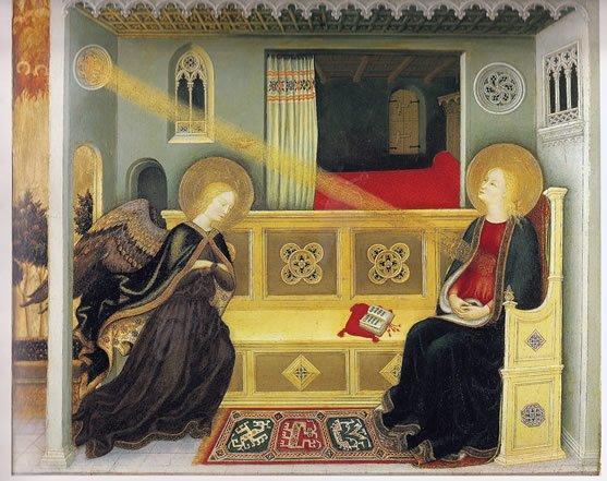 da Fabriano, Gentile ~ The Annunciation
