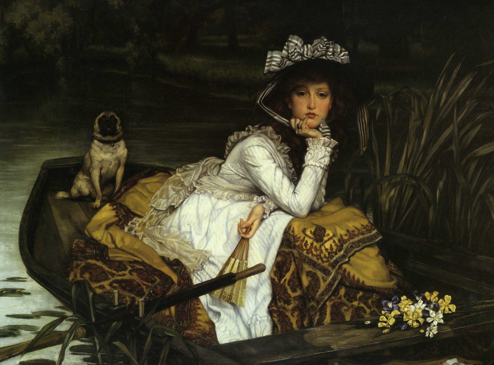 Jeune femme en Bateau (Young Lady in a Boat)