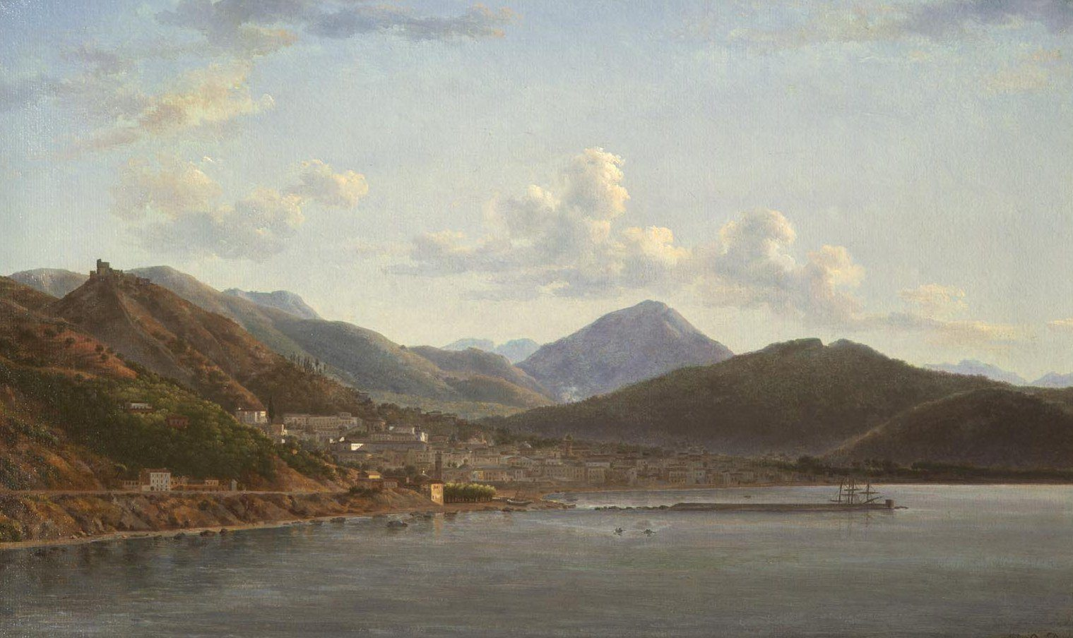 Landscape With A View Of Salerno