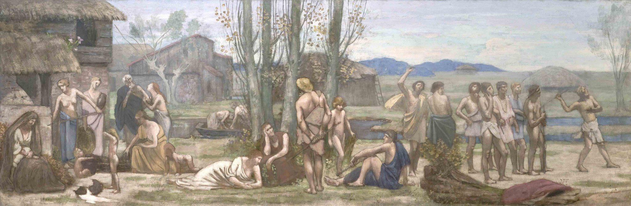 Puvis de Chavannes, Pierre ~ Ludus Pro Patria