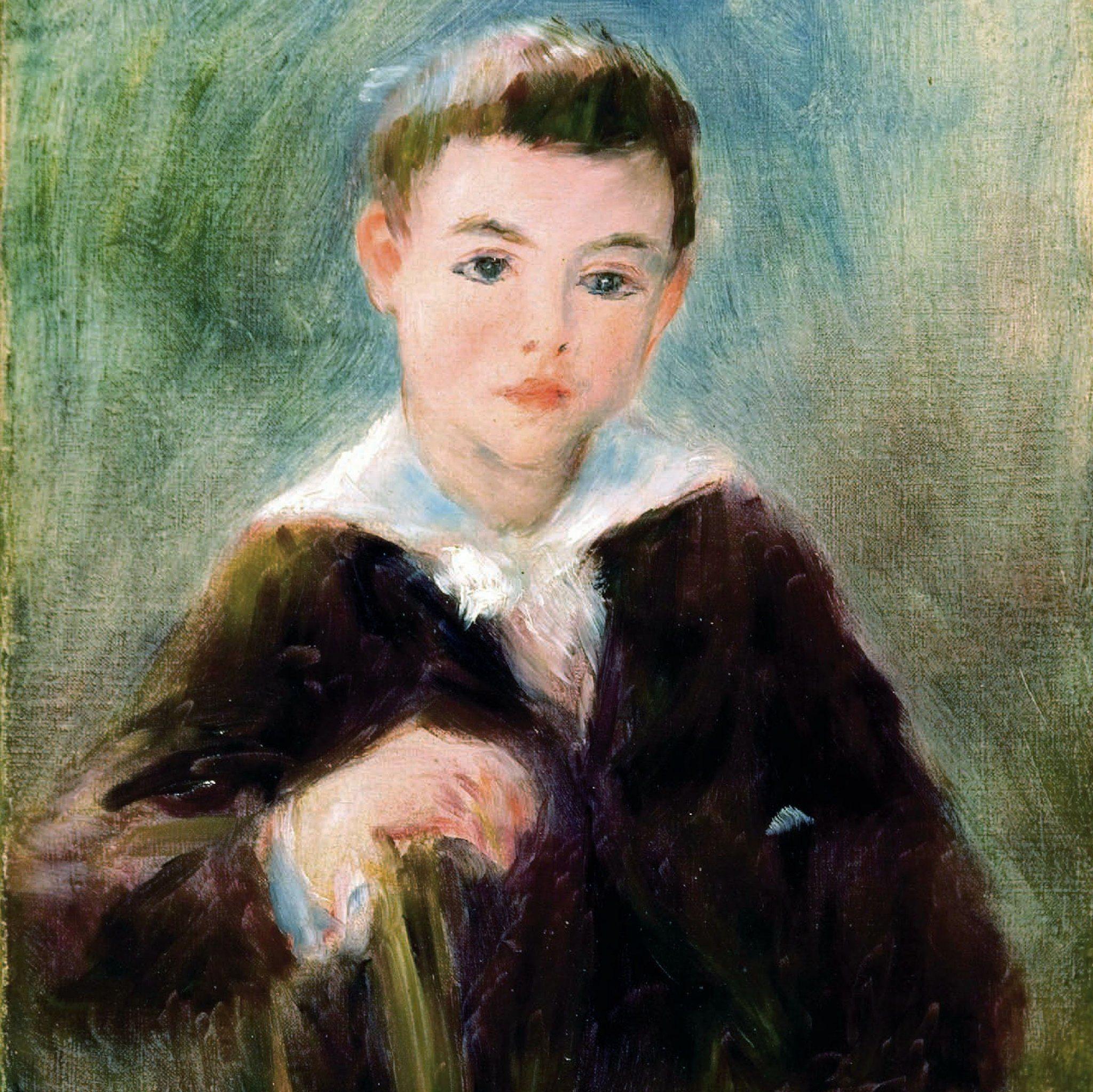 Renoir, Auguste ~ Portrait of Douglas Fitch II