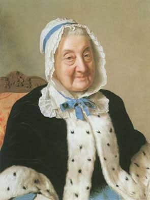 Portrait Of Madame Tronchin
