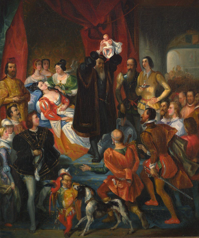 Replique de la Naissance d'Henri IV