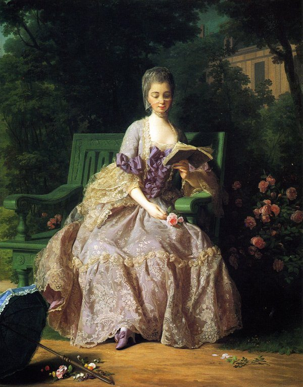Charpentier, Jean-Baptiste ~ The Princess of Lamballe