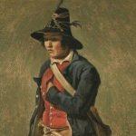 Michallon, Achille Etna ~ Etude d`Italien, (Study of an Italian man)