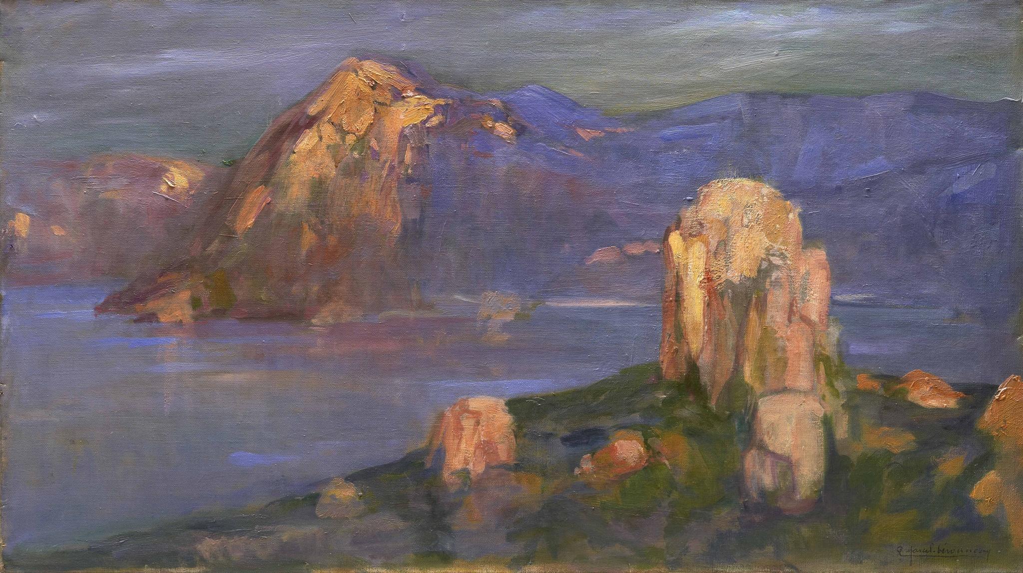 Marcel-Béronneau, Pierre Amédée ~ Calanques de Piana, Corse