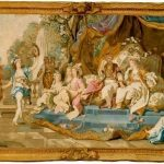 Van Loo, Charles-Amedee ~ Pastoral Feast given by the Odalisques for the Sultan and Sultana