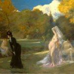 Carolus-Duran, Charles Emile Auguste ~ Les Baigneuses de Fontainebleau