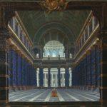 Rousseau, Jacques ~ Architectural Perspective : A Temple