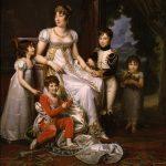 Gérard, Baron François ~ Caroline Bonaparte, Queen of Naples, and Her Children