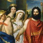 David, Jacques Louis ~ La Colère d'Achille (The Anger of Achilles, or Sacrifice of Iphigénie)