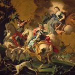 Falciatore, Filippo ~ The Royal Hunt of Dido and Aeneas