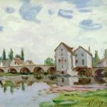 Sisley, Alfred ~ View Of Moret-sur-Loing