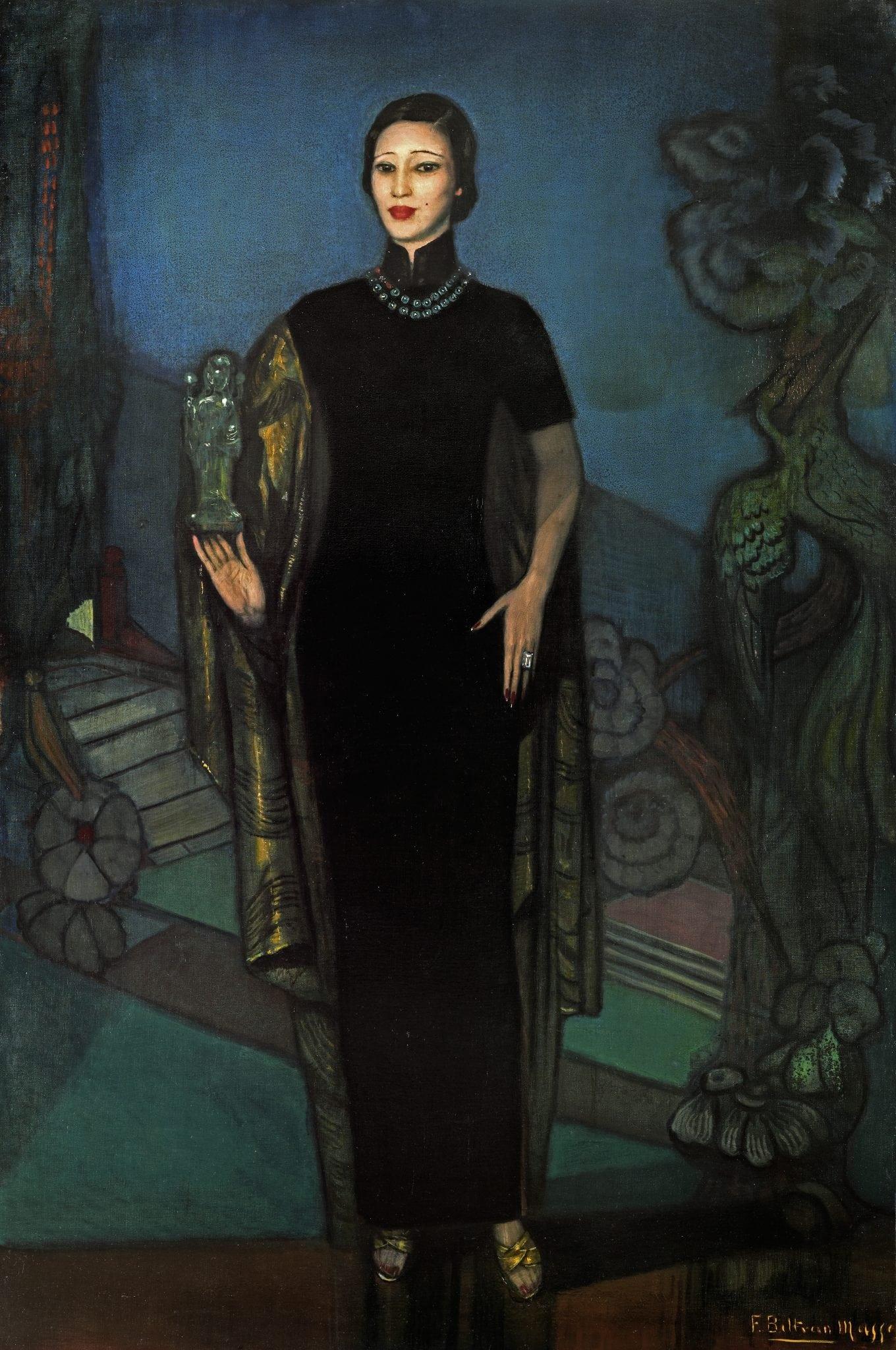 Beltran Masses, Federico ~ Oei Hui-lan, Mme Wellington Koo, 1932